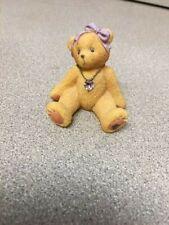 1996 Cherished Teddies June Birthstone Bear Enesco #239801 Preowned Excellent