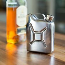 Jerry Can Metal Hip Flask