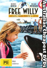 Free Willy Escape From Pirate's Cove DVD NEW, FREE POSTAGE WITHIN AUST REGION 4