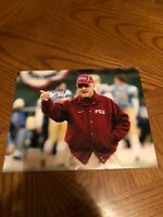 BOBBY BOWDEN FLOIRDA STATE SEMINOLES SIGNED AUTOGRAPHED 8X10 PHOTO 94 CHAMPS 2