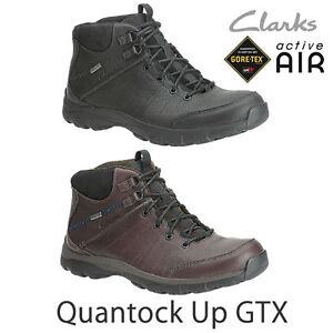 Clarks MEN **  Brown Quantock Up Gtx ** ACTIVE AIR ROCK **  UK 7 / US 8 G