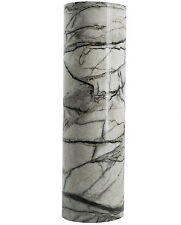 Gray Crack Stone Peel Sticker Marble Vinyl Contact Paper 24-In by 78.7-In