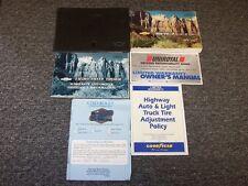1999 Chevy S10 Pickup Truck Owner Owner's User Guide Manual Set LS 2.2L 4.3L V6