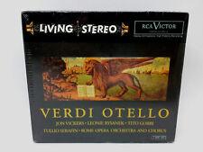 Jon Vickers Living Stereo Giuseppe Verdi Rysanek Gobbi CD Box Set NEW SEALED