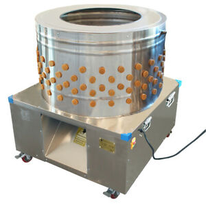 Beeketal Geflügelrupfmaschine Rupfmaschine Nassrupfmaschine für Gänse u. Puten