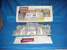 NEW EDELBROCK PERFORMER EPS SMALL BLOCK CHEVY ALUMINUM INTAKE MANIFOLD 7101
