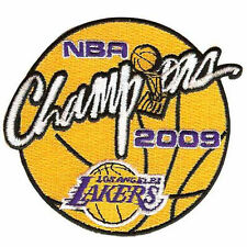 Genuine NBA Champions Logo Trophy Patch 2009 Los Angeles Lakers Kobe Bryant