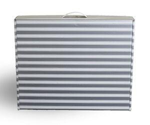 Wedding dress storage Air Travel box SILVER & White or GOLD & White +  AF tissue
