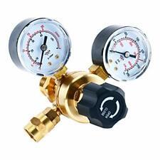 "2""dual-gauges Brass regulator body Argon Co2 Regulators Cga580 fitting Us Stock"