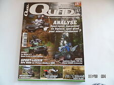 QUAD PASSION MAGAZINE N°147 09/2012 EXPLORER ARGON 700 XL MASAI S800I   I27