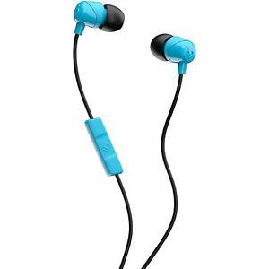 Brand New Skullcandy Jib In-Ear w/ mic Blue HEADPHONES S2DUYK-628