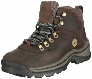 TimberlanD Women's White LeDge MiD Ankle BootDark Brown8 M US