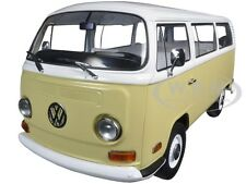 1971 VOLKSWAGEN TYPE 2 BUS YELLOW 1/18 DIECAST MODEL CAR BY GREENLIGHT 19012