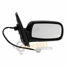 Toyota Yaris 1999-5/2003 Electric Non Heated Black Wing Door Mirror Drivers Side