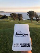 golf scorecard holder leather