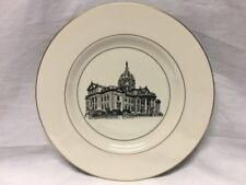 Woodmere China Washington County Court House Collectors Plate