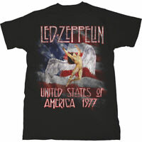 LED ZEPPELIN Stars n Stripes USA Mens T Shirt Unisex Tee Official Licensed Merch