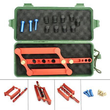 6/8/10mm Self Centering Dowelling Jig Metric Dowel Drilling Tool Kit Woodworking