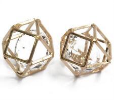 2pcs Wrap Cage Rhinestone Pendant Crystal Jewelry Craft Findings