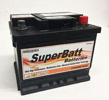 SuperBatt XC063 Smart For two 700 Petrol 04 12v New Car Battery