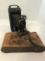 Vintage Kodak No.1A Autographic Folding Bellows Camera Optimo W/Original Manual