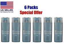 XFusion Keratin Hair Fibers Dark Brown 0.98oz 6packs special offer FAST SHIPPING