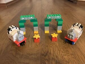 Rare Lego #5545 Duplo Thomas & Friends Stanley at Great Waterton X 2 Set Retired