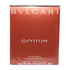 (EUR 172,50/100 ml) Bvlgari Omnia Woman Bulgari Eau de Parfum EdP 40 ml Rarität