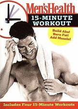 Mens Health - 15 Minute Workout (DVD, 2007) Disc Only