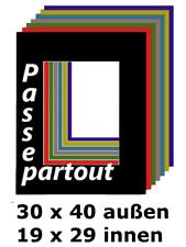flieder 40 Größen Schrägschnitt-Passepartout Lampone