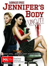 "Jennifer's Body DVD Unrated R4 ""LIke New"""