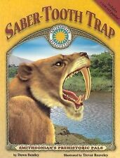 USED (GD) Saber-Tooth Trap - a Smithsonian Prehistoric Pals Book (Smithsonian's