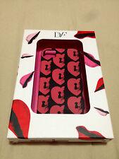 DVF iphone 4 DIANE VON FURSTENBERG CELL PHONE CASE RED LOCKED HEARTS TWE ED NIB