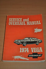 Werkstatthandbuch CHEVROLET Service Overhaul Manual 1974 Vega