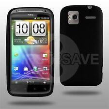 Black TPU Gel Case Cover Skin for HTC Sensation