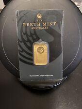 10 gram Gold Bar - Perth Mint - 99.99 Fine in Assay/ Tamper-Evident Case🔥