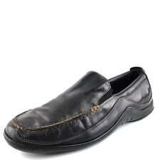 e099f147d47 Cole Haan Tucker Venetian Black Leather Casual Loafers Mens Size 8.5 M