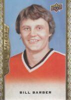 2014-15 Upper Deck Masterpieces Hockey #103 Bill Barber SP Philadelphia Flyers