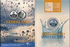 **5 euro 2010 Waterland zilver Proof Vijfje Nederland Holland PP** In Blister