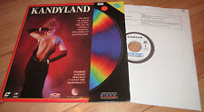 Kandyland Sandahl Bergman Kim Evanson Exotic Dancer Erotic Laserdisc Film 1987