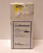 Whatman 7153-104 Sterile Membrane Filters w/ Absorbent Pads Black Grid - Box 100