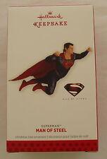 Hallmark 2013 Superman Man of Steel Super Hero Keepsake Christmas Ornament