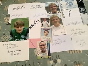 collection LEEDS UNITED  fc Autographs Free Postage