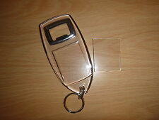 2 Part Blank Clear Acrylic Bottle Opener 40mm x 32mm - insert your own picture