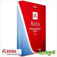 Avira OPTIMIZATION SUITE 2018 1PC 1Jahr | Internet Security Suite | DE-Lizenz