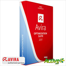 Avira OPTIMIZATION SUITE 2017 3 PC 3Jahre | Internet Security Suite | DE-Lizenz