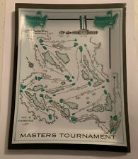 Vintage Super Rare Masters Golf Plate Dish Augusta National Excellent