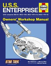 U.S.S. Enterprise Manual (Haynes Owners Workshop Ma. by Michael Okuda Hardback