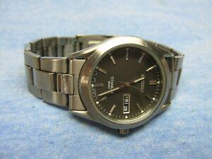 Men's SEIKO Water Resistant Titanium Watch w/ New Battery
