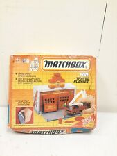 Vintage Matchbox Fire Travel Playset, Mini Fold 'N Go, New, Factory Sealed!